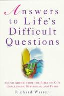 Download Answers to Life's Difficult Questions