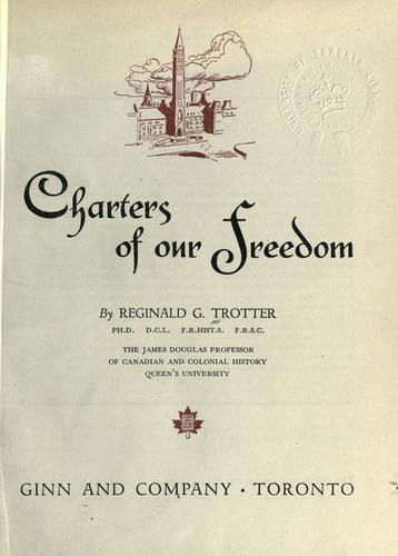Charters of our freedom.