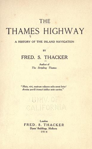 Download The Thames Highway
