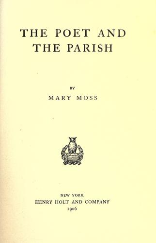 The poet and the parish