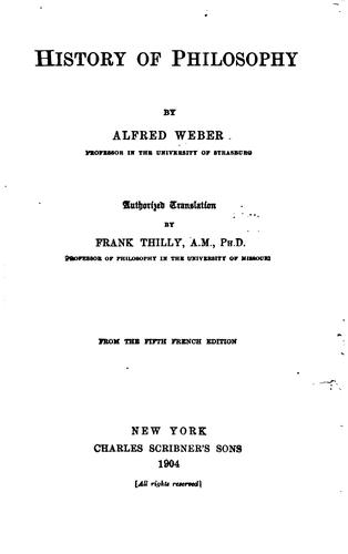Download History of philosophy