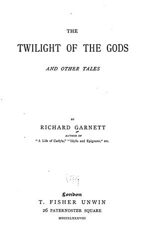 Download The twilight of the gods