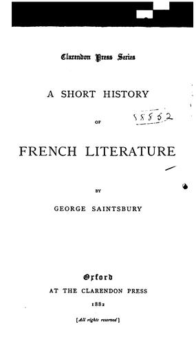 Download Primer of French literature