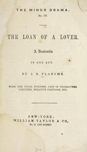 The loan of a lover.