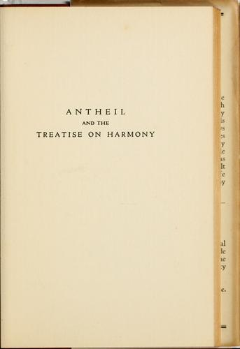 Download Antheil and the Treatise on harmony
