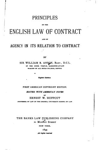 Download Principles of the law of contract