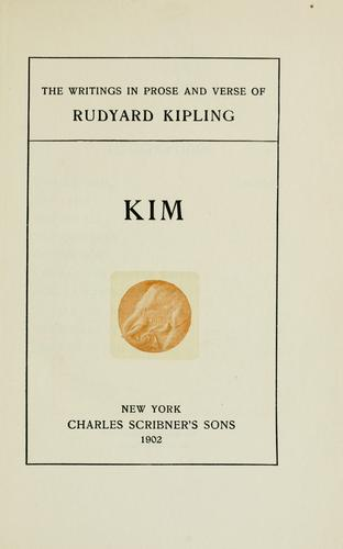 The  writings in prose and verse of Rudyard Kipling …