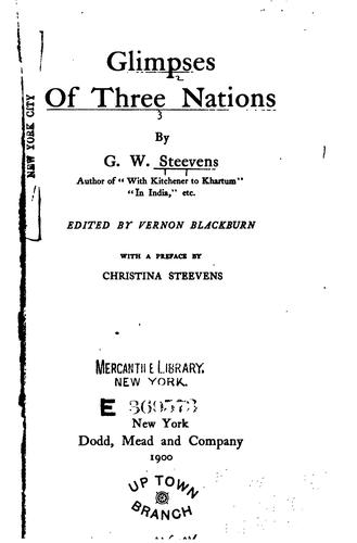 Download Glimpses of three nations