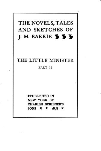 Download The novels, tales, and sketches of J.M. Barrie …