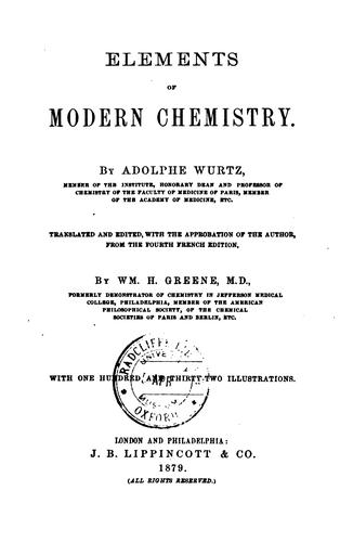 Download Elements of modern chemistry.