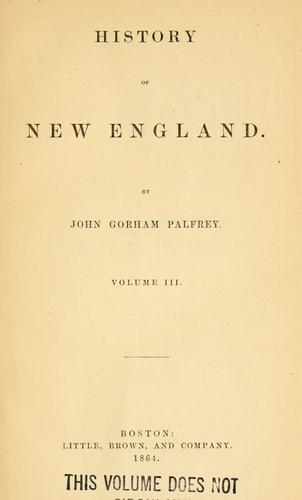 Download History of New England