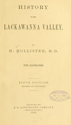 Download History of the Lackawanna Valley