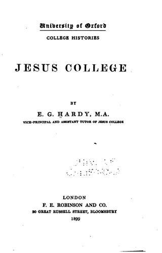 Download Jesus college