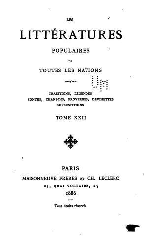 Download Coutumes populaires de la Haute-Bretagne