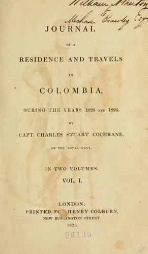 Download Journal of a residence and travels in Colombia during the years 1823 and 1824