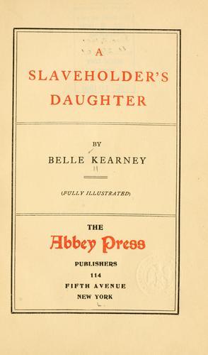 Download A slaveholder's daughter