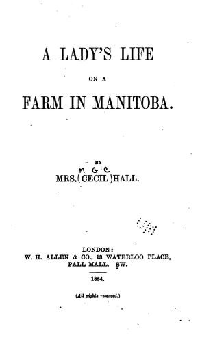 Download A lady's life on a farm in Manitoba.