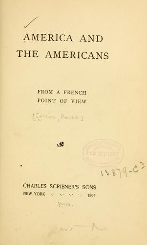 Download America and the Americans from a French point of view.