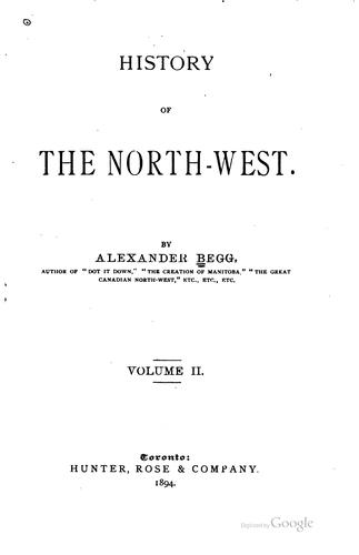 Download History of the North-west.