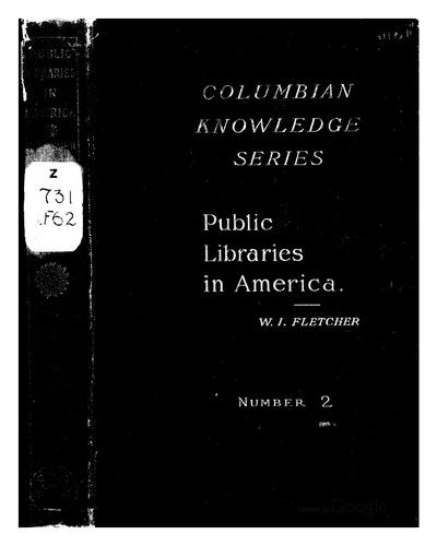 Download Public libraries in America