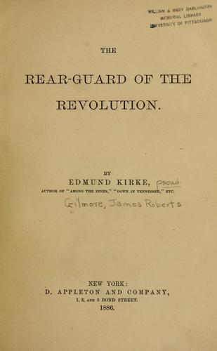 The rear-guard of the revolution