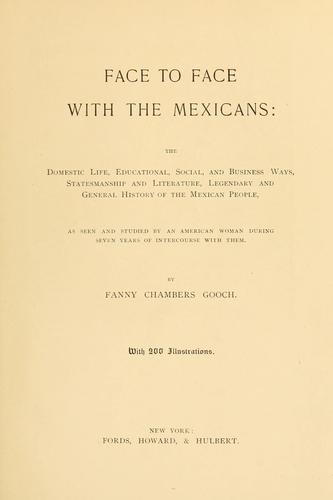 Download Face to face with the Mexicans