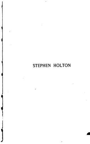 Stephen Holton