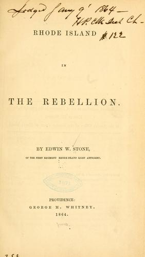 Download Rhode Island in the rebellion.