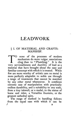 Download Leadwork