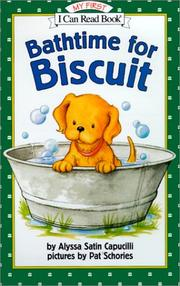 Bathtime for Biscuit Cover