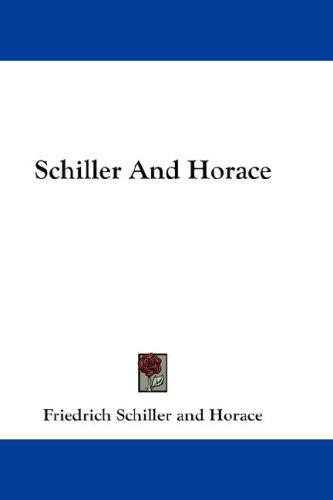 Schiller And Horace