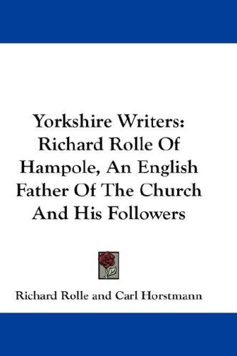 Download Yorkshire Writers
