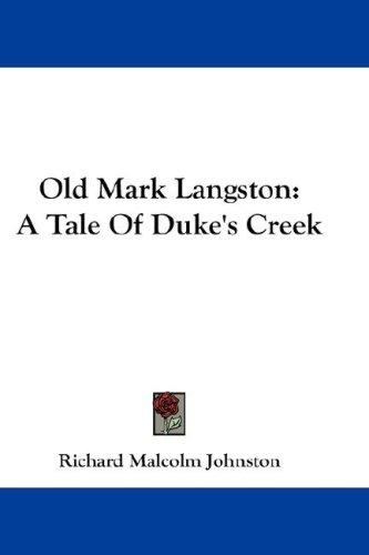 Old Mark Langston