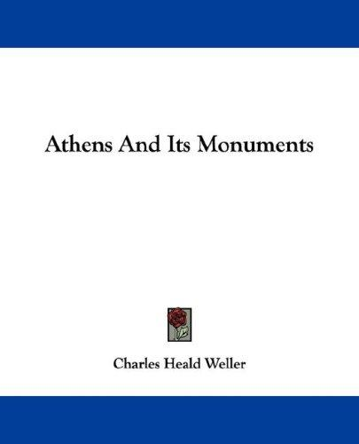 Download Athens And Its Monuments