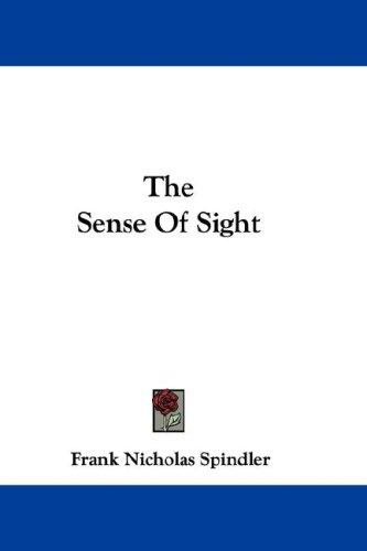 Download The Sense Of Sight