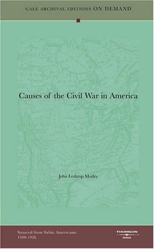 Causes of the Civil War in America
