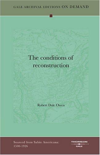 The conditions of reconstruction