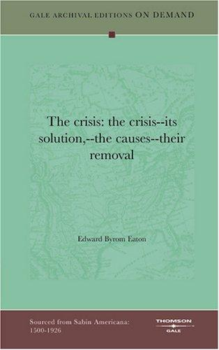 """Download """"The crisis"""""""