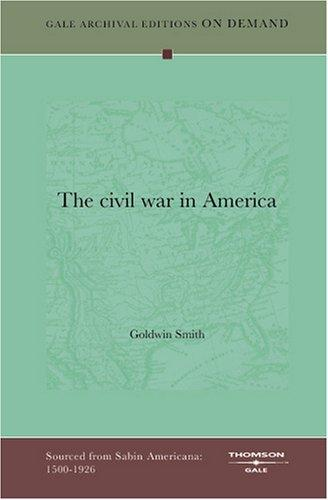 Download The civil war in America