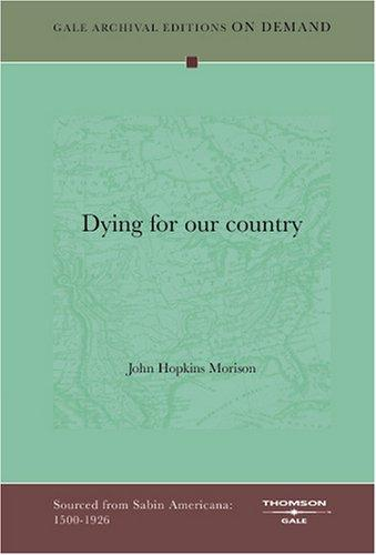 Download Dying for our country