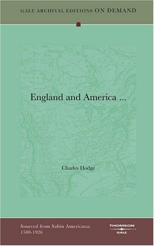England and America …