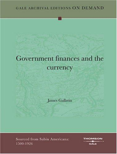 Download Government finances and the currency