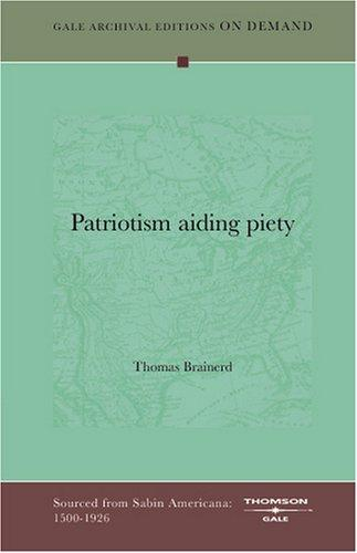 Download Patriotism aiding piety