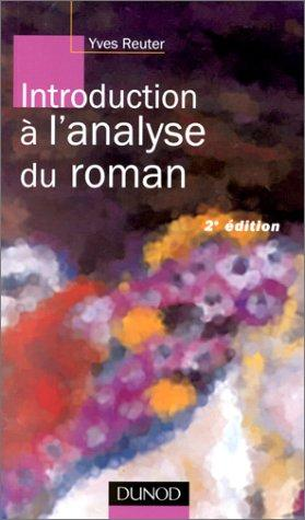 Introduction à l'analyse du roman