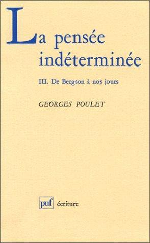 Download La pensée indéterminée