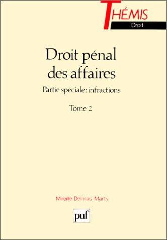 Download Droit pénal des affaires