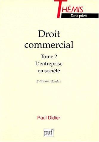 Download Droit commercial