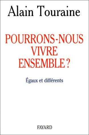 Download Pourrons-nous vivre ensemble?