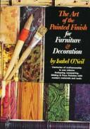 Download The art of the painted finish for furniture & decoration
