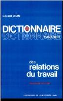 Download Dictionnaire canadien des relations du travail